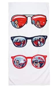 Window Seat: Beach Towel, Beach Towels + Threadless Collection