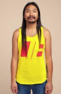 Lie: Guys Pima Pocket Tank, Guys Select + Threadless Collection