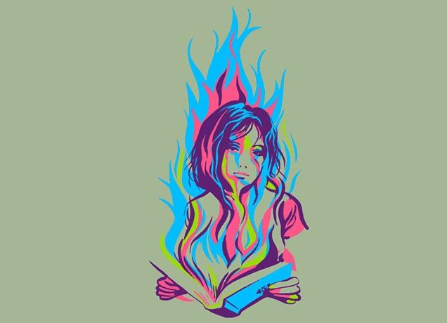 Fahrenheit 451 by julia sonmi heglund threadless for Fahrenheit 451 tattoo