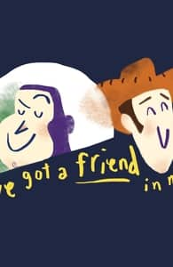 You've Got a Friend in Me!, Toy Story Tees + Threadless Collection