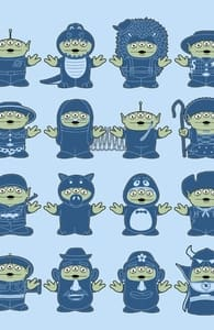 Alien Fancy Dress Fest, Toy Story Tees + Threadless Collection