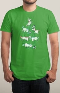 Angry Unicorns, Anna-Marie's Designs + Threadless Collection