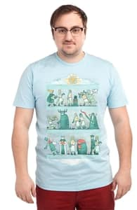 Tapisserie D'arrrggghhh, Anna-Marie's Designs + Threadless Collection