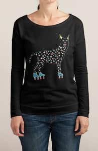 Cat on Wheels, Girly Other Tops + Threadless Collection