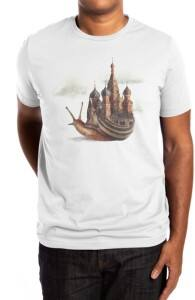 The Snail's Daydream, Eric's Designs + Threadless Collection