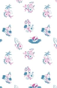 Luausy Vacation, Girly Tank Tops + Threadless Collection