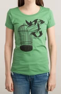 Breaking Through to Freedom, New and Top Selling Animal T-Shirts + Threadless Collection