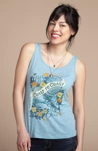 Coast to Coast: Girly Summer Tank, Girly Select + Threadless Collection