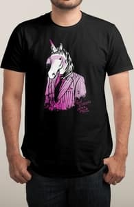Real Unicorns Wear Pink, Katie's Designs + Threadless Collection