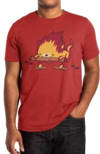 His Burn is Worse than his Bite, Aaron's Designs + Threadless Collection
