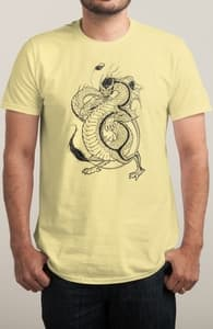 Bruce, the Dragon, Draco's Designs + Threadless Collection