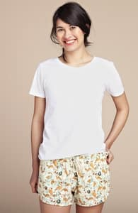 Feathered Social: Girly Poplin Shorts, Girly Select + Threadless Collection