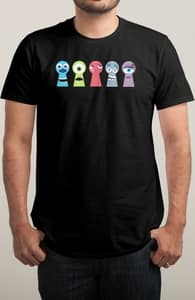 Hi There, Monsters, Inc. Tees + Threadless Collection
