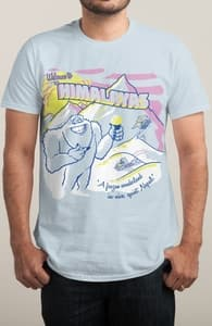Himalayas Souvenir Tee!, Monsters, Inc. Tees + Threadless Collection