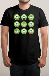 Emonstercon, Monsters, Inc. Tees + Threadless Collection