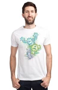Screaming Scribbles, Monsters, Inc. Tees + Threadless Collection