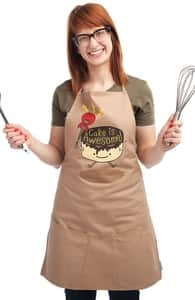 Cake Is Awesome!: Threadless Apron, Aprons + Threadless Collection