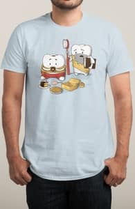 My Sweet Tooth Never Listens to My Wisdom Tooth, Nestor's Designs + Threadless Collection