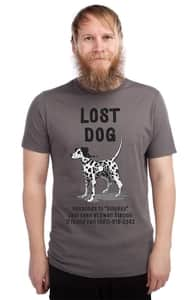 Lost Dog, Nestor's Designs + Threadless Collection