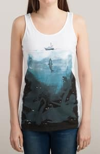 You're Gonna Need a Bigger Boat, Girly Tank Tops + Threadless Collection