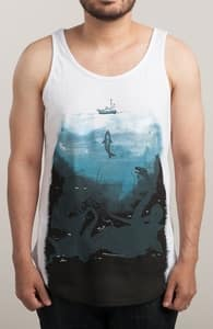 You're Gonna Need a Bigger Boat, Guys Tank Tops + Threadless Collection