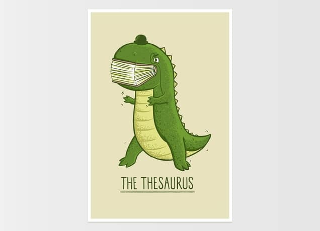 The Thesaurus, a cool ...