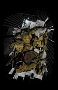 Jump! - ronin84, Teenage Mutant Ninja Turtles T-Shirts + Threadless Collection