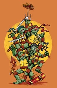 The Last Piece of Pizza, Teenage Mutant Ninja Turtles T-Shirts + Threadless Collection