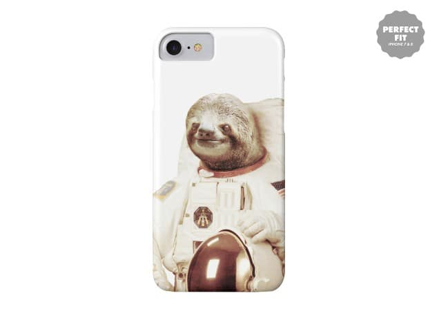 sloth astronaut phone case - 636×460