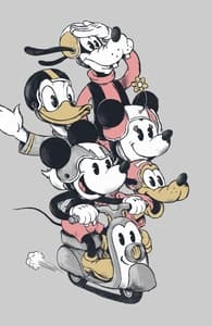 Cruisin', Mickey Mouse & Friends T-Shirts + Threadless Collection