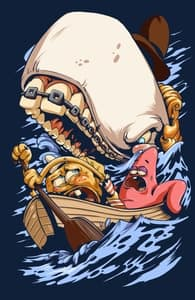 Ahoy!, SPONGEBOB SQUAREPANTS T-SHIRTS + Threadless Collection