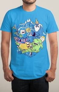 Ultimate Adventure, Adventure Time T-Shirts + Threadless Collection