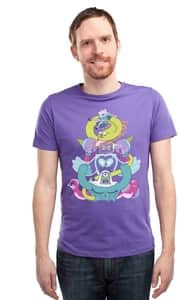 Trial by Fire, Adventure Time T-Shirts + Threadless Collection