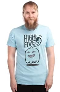 High Five Ghost Says High Five, Check Out Our Regular Show T-Shirts + Threadless Collection