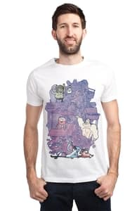 Now Clean Up This Mess!, Check Out Our Regular Show T-Shirts + Threadless Collection