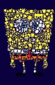 What Makes a Sponge so Spongy, SPONGEBOB SQUAREPANTS T-SHIRTS + Threadless Collection