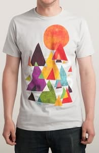 The Mountains are Calling, New and Top Selling Art T-Shirts + Threadless Collection