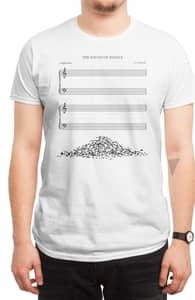 The Sound of Silence, New and Top Selling Music T-Shirts + Threadless Collection