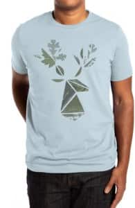 Leafy Deer, Ross' Designs + Threadless Collection
