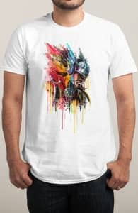 God of Thunder, Winning Thor Tees + Threadless Collection