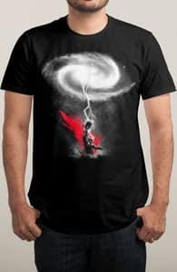 The Mightiest, Winning Thor Tees + Threadless Collection