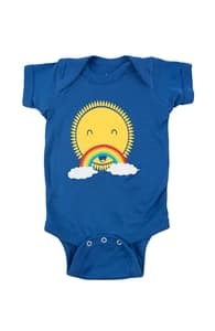 Rainbow Moustache, New Threadless Baby & Toddler Boys + Threadless Collection