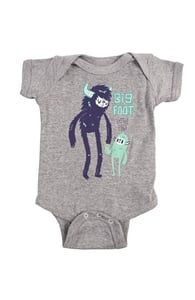 Big Foot Little Foot, New Threadless Baby & Toddler Boys + Threadless Collection