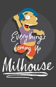 Everything's Coming Up Milhouse, The Simpsons T-shirts + Threadless Collection
