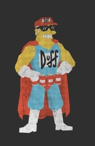 Straight Line Duffman, The Simpsons T-shirts + Threadless Collection