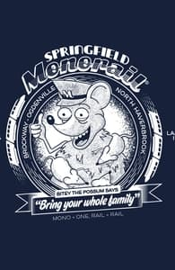 Ride the Springfield Monorail!, The Simpsons T-shirts + Threadless Collection