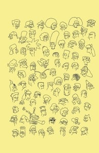 Springfield Doodles, The Simpsons T-shirts + Threadless Collection