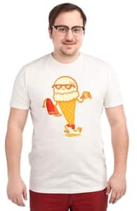 Ice Cream Beach Party, Phil's Designs + Threadless Collection