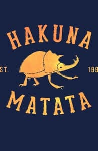 Hakuna Matata Bugs, Lion King T-Shirts + Threadless Collection