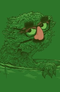Grouch in Disguise, Shop All Sesame Street Designs + Threadless Collection